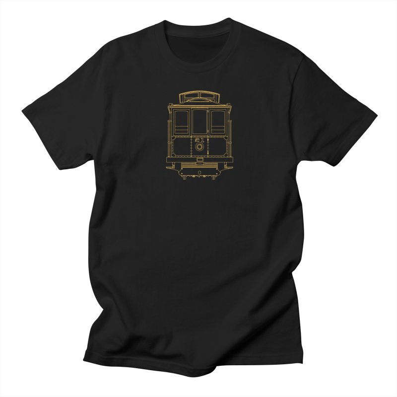 Cable Car #21 Women's Regular Unisex T-Shirt by RE Casper Studio