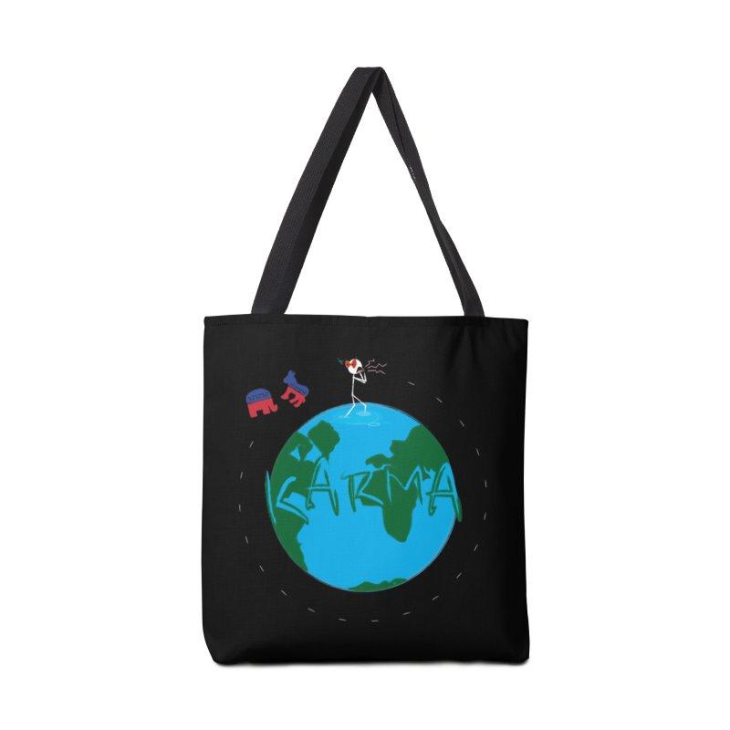 Karma Series - Politics Accessories Tote Bag Bag by RE Casper Studio