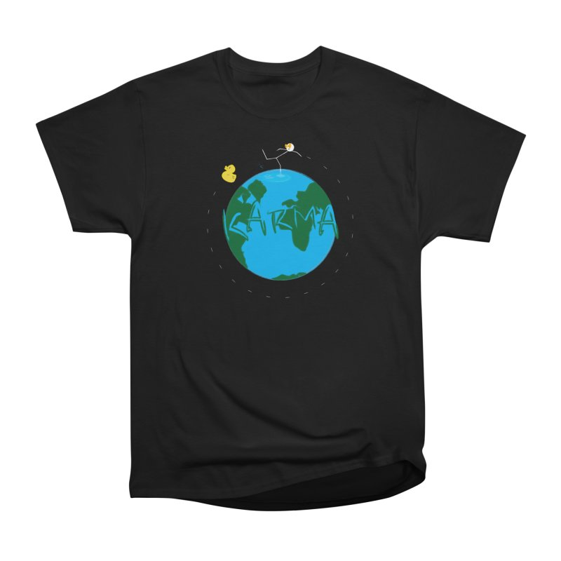 Karma Series - Rubber Duckie Men's Classic T-Shirt by RE Casper Studio