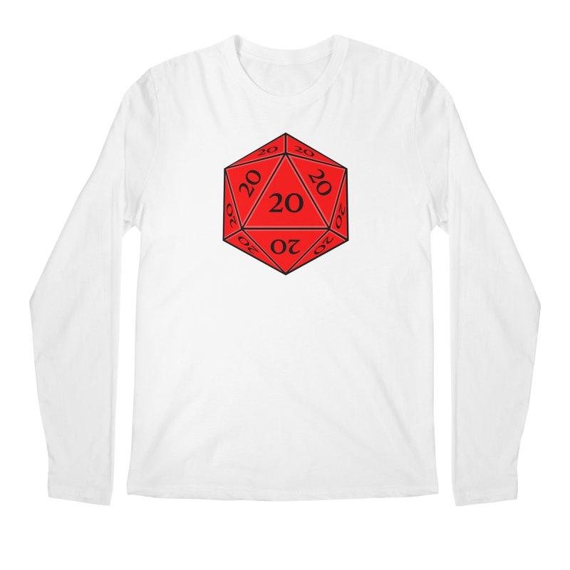 d20 Men's Regular Longsleeve T-Shirt by RE Casper Studio