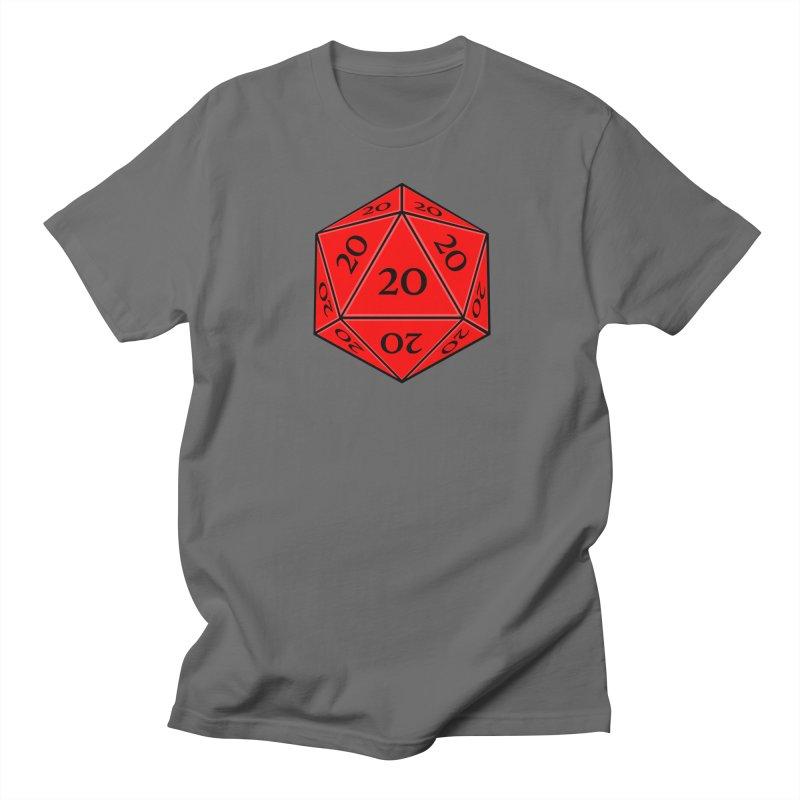 d20 Men's Regular T-Shirt by RE Casper Studio