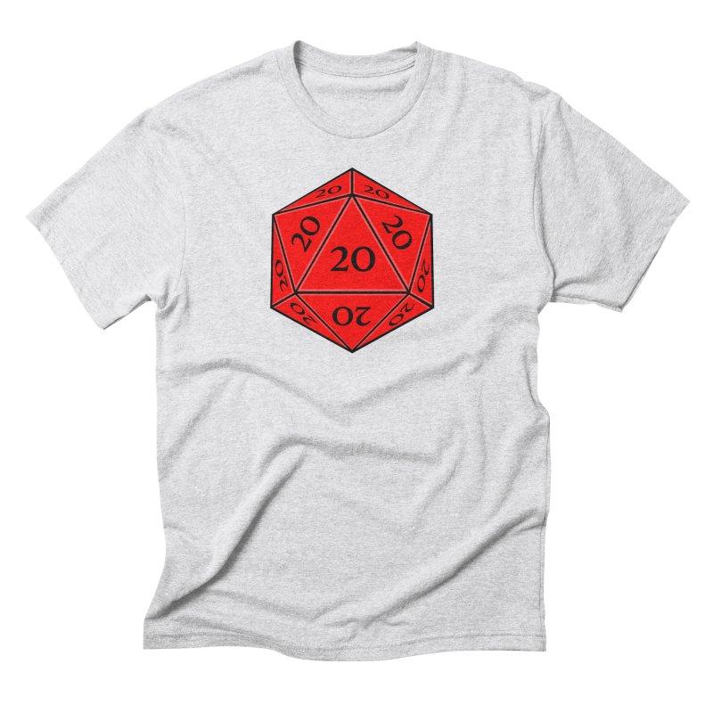 d20 Men's Triblend T-Shirt by RE Casper Studio
