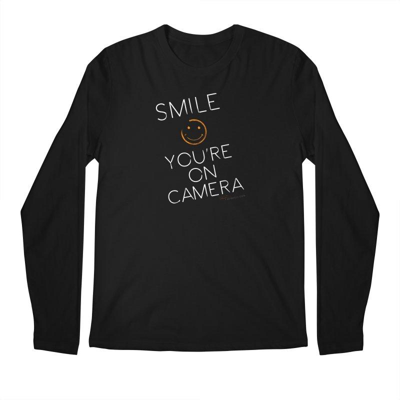 Smiley Cam Men's Longsleeve T-Shirt by RE Casper Studio