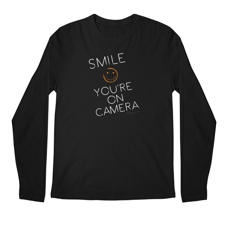 Smiley Cam Men's Longsleeve T-Shirt by RE Casper Studio