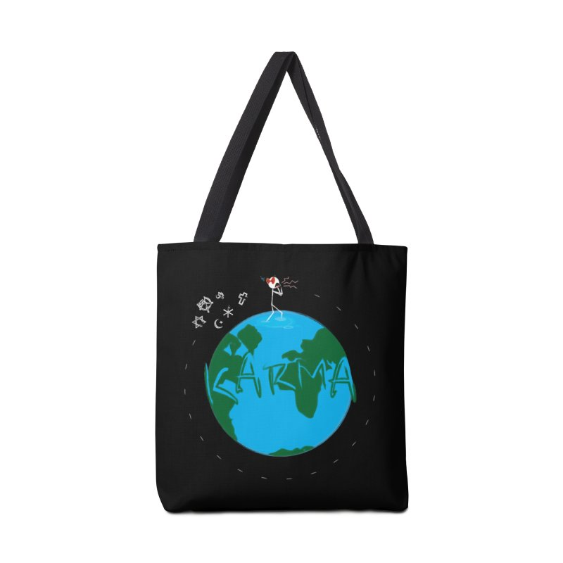 Karma Series - Religion Accessories Tote Bag Bag by RE Casper Studio