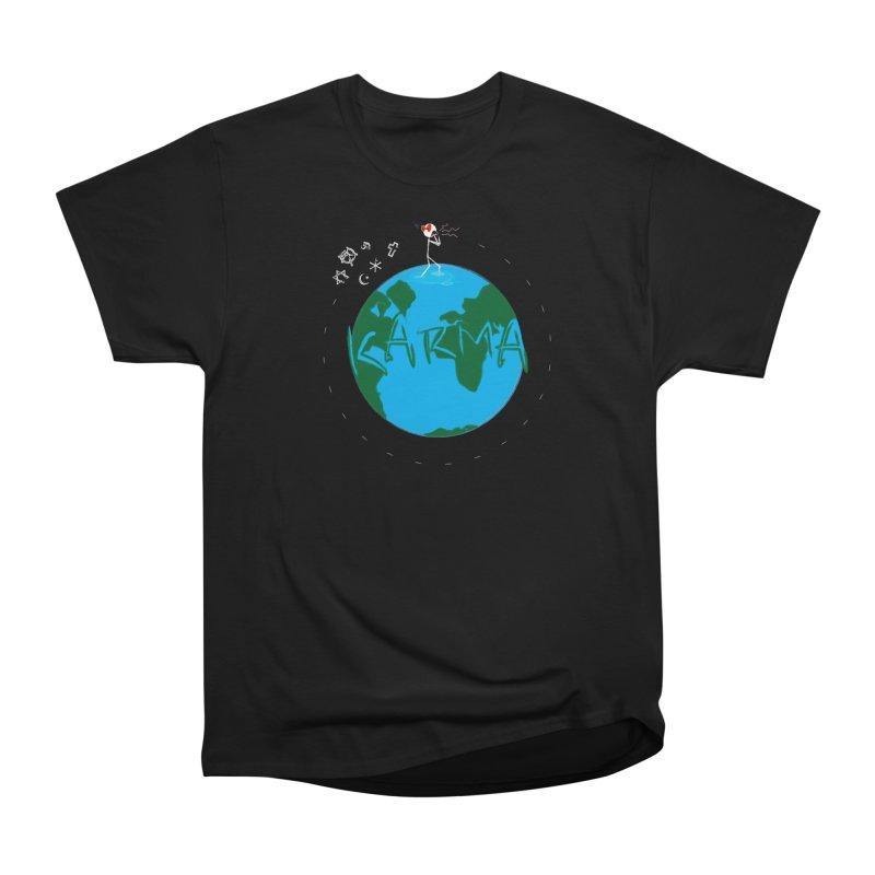 Karma Series - Religion Men's Heavyweight T-Shirt by RE Casper Studio