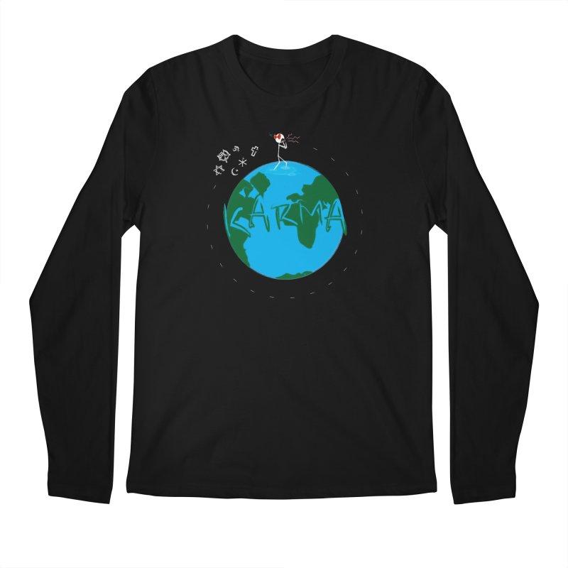 Karma Series - Religion Men's Regular Longsleeve T-Shirt by RE Casper Studio