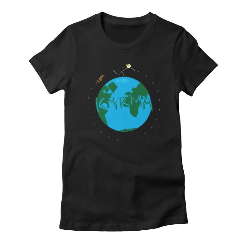 Karma Series - Poo Women's T-Shirt by RE Casper Studio