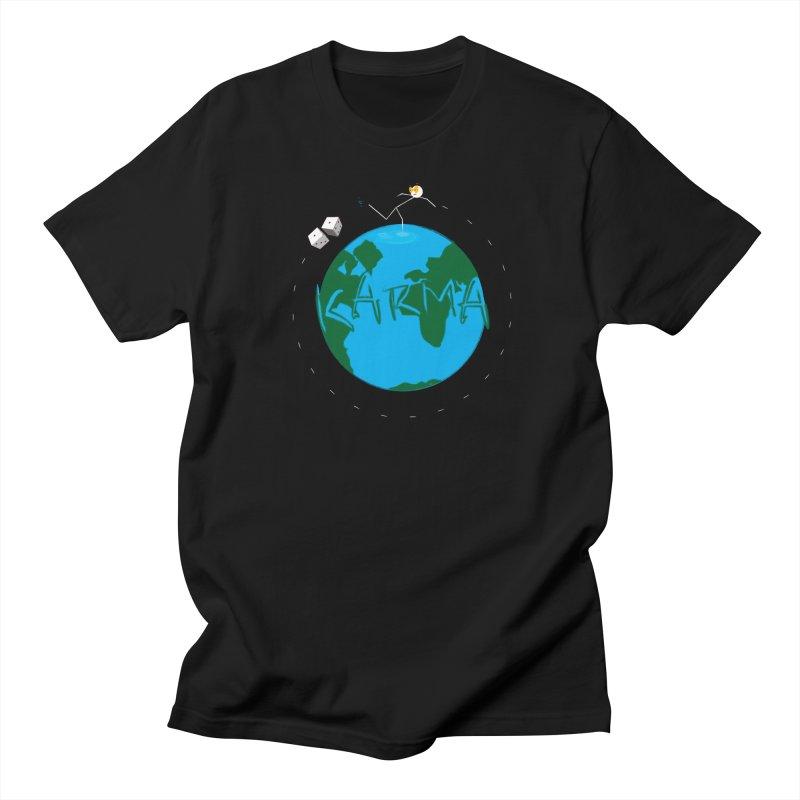 Karma Series - Dice Men's T-Shirt by RE Casper Studio