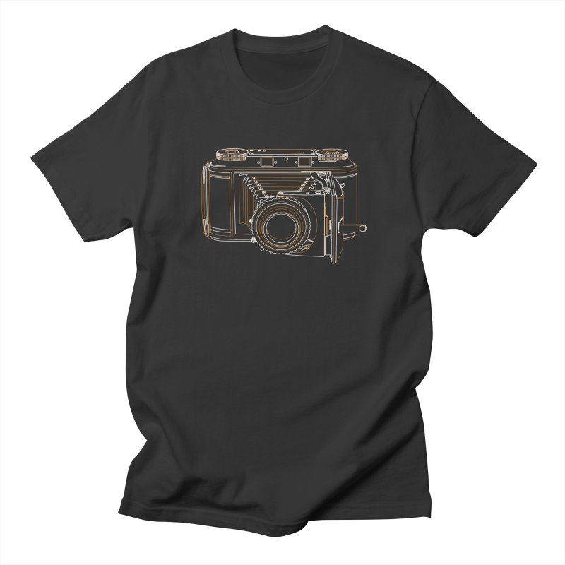Voigtlander Synchro Compur Men's Regular T-Shirt by RE Casper Studio