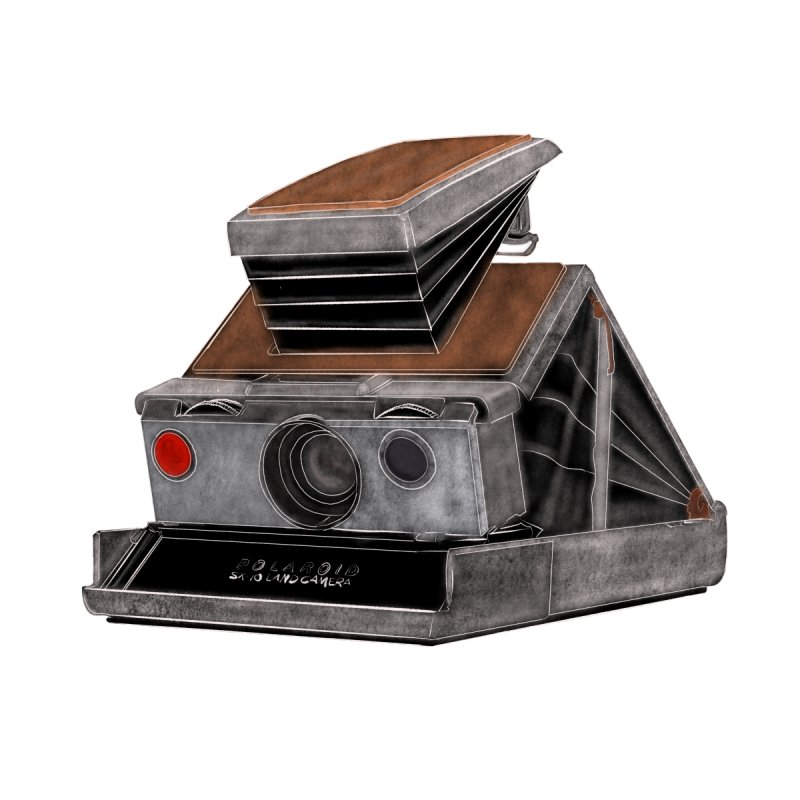 Polaroid SX10 Land Camera by RE Casper Studio