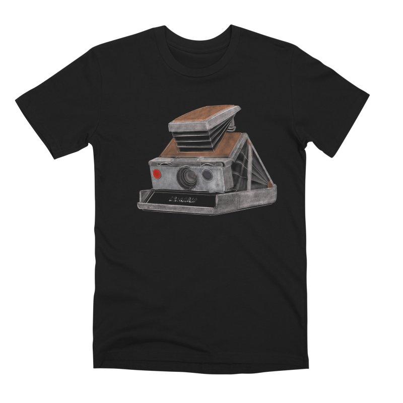 Polaroid SX10 Land Camera Men's Premium T-Shirt by RE Casper Studio