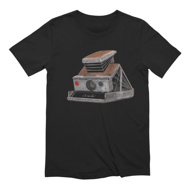 Polaroid SX10 Land Camera Men's Extra Soft T-Shirt by RE Casper Studio