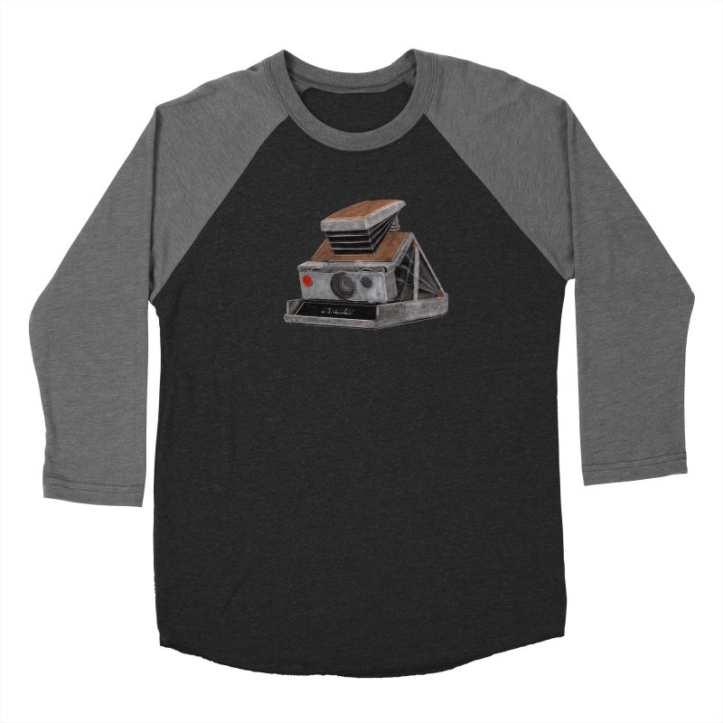 Polaroid SX10 Land Camera Men's Longsleeve T-Shirt by RE Casper Studio