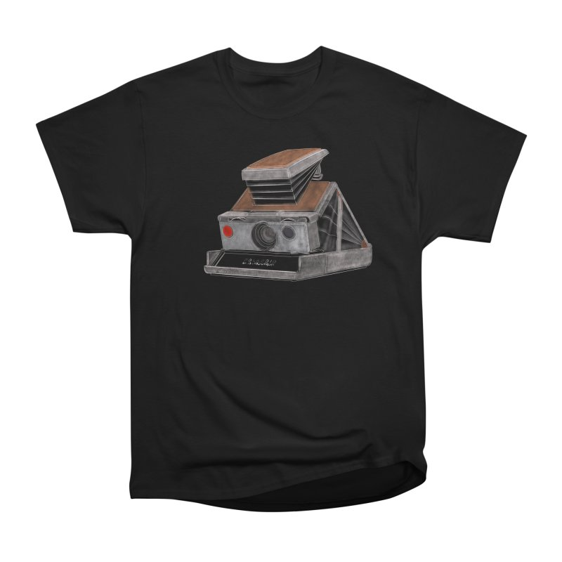 Polaroid SX10 Land Camera Men's Heavyweight T-Shirt by RE Casper Studio