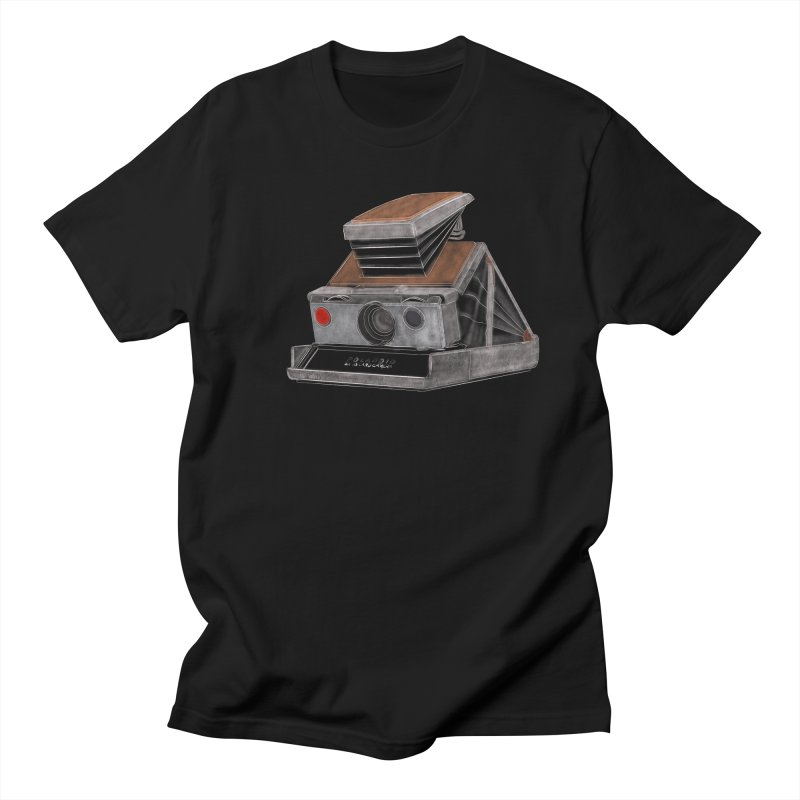 Polaroid SX10 Land Camera Men's Regular T-Shirt by RE Casper Studio