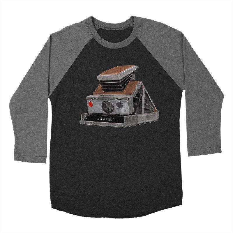 Polaroid SX10 Land Camera Men's Baseball Triblend Longsleeve T-Shirt by RE Casper Studio