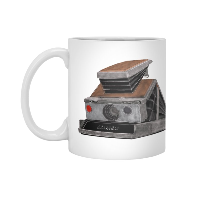 Polaroid SX10 Land Camera Accessories Standard Mug by RE Casper Studio