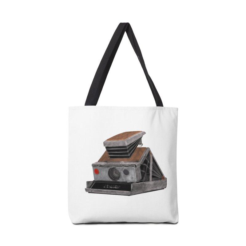 Polaroid SX10 Land Camera Accessories Tote Bag Bag by RE Casper Studio
