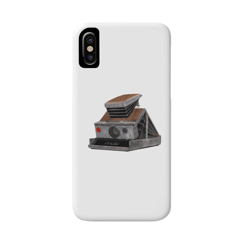Polaroid SX10 Land Camera Accessories Phone Case by RE Casper Studio