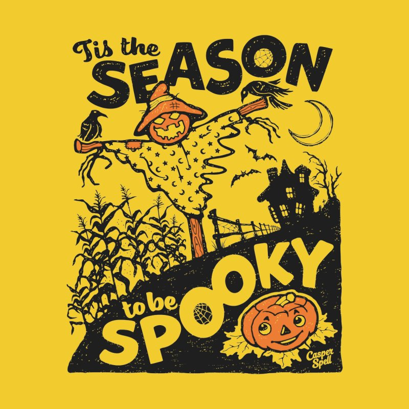 Tis the Season to be Spooky by Casper Spell Home Duvet by Casper Spell's Shop