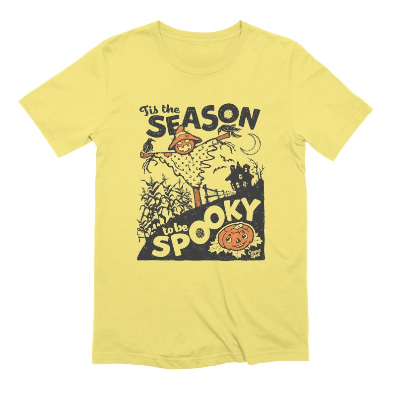 Tis the Season to be Spooky by Casper Spell Men's T-Shirt by Casper Spell's Shop