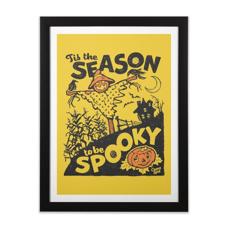 Tis the Season to be Spooky by Casper Spell Home Framed Fine Art Print by Casper Spell's Shop