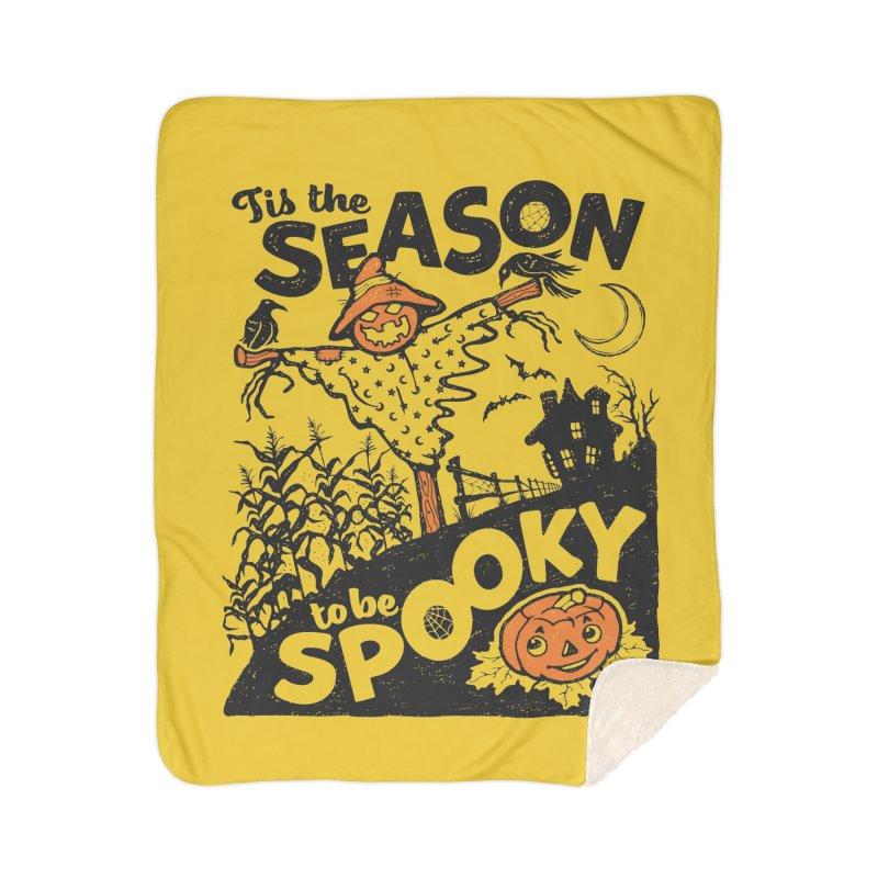 Tis the Season to be Spooky by Casper Spell Home Blanket by Casper Spell's Shop