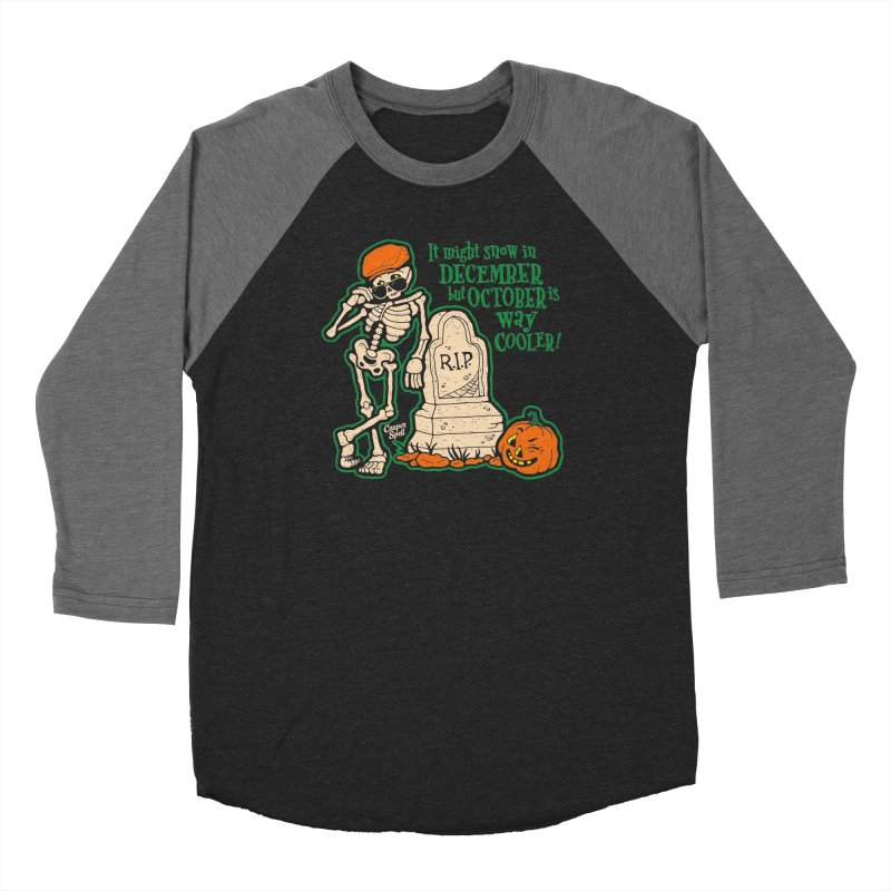 October is Way Cooler Men's Longsleeve T-Shirt by Casper Spell's Shop