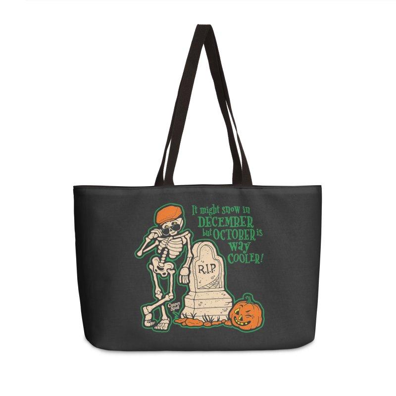October is Way Cooler Accessories Bag by Casper Spell's Shop