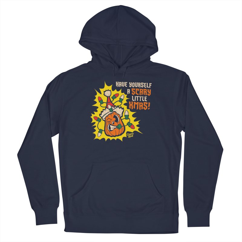 Have Yourself A Scary Little Christmas Men's Pullover Hoody by Casper Spell's Shop