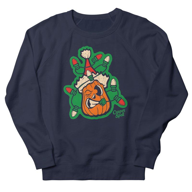 Halloween Gettin' Lit for Xmas Men's Sweatshirt by Casper Spell's Shop