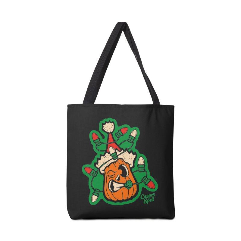 Halloween Gettin' Lit for Xmas Accessories Bag by Casper Spell's Shop