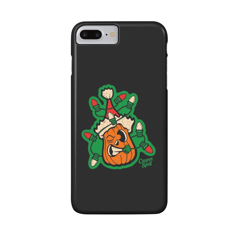 Halloween Gettin' Lit for Xmas Accessories Phone Case by Casper Spell's Shop