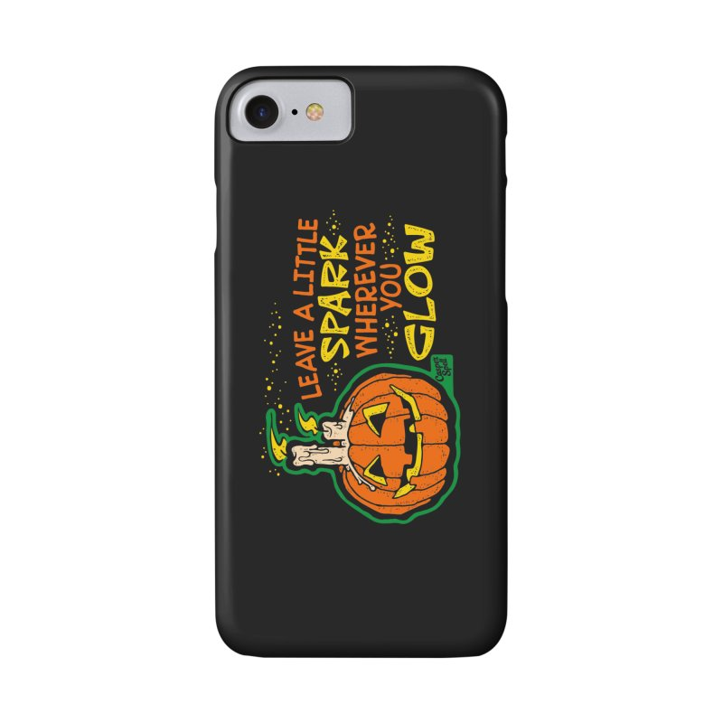 Leave A Little Spark Wherever You Glow Accessories Phone Case by Casper Spell's Shop