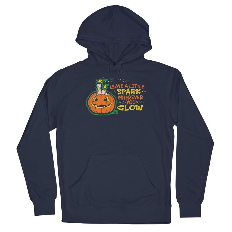 Leave A Little Spark Wherever You Glow Men's Pullover Hoody by Casper Spell's Shop