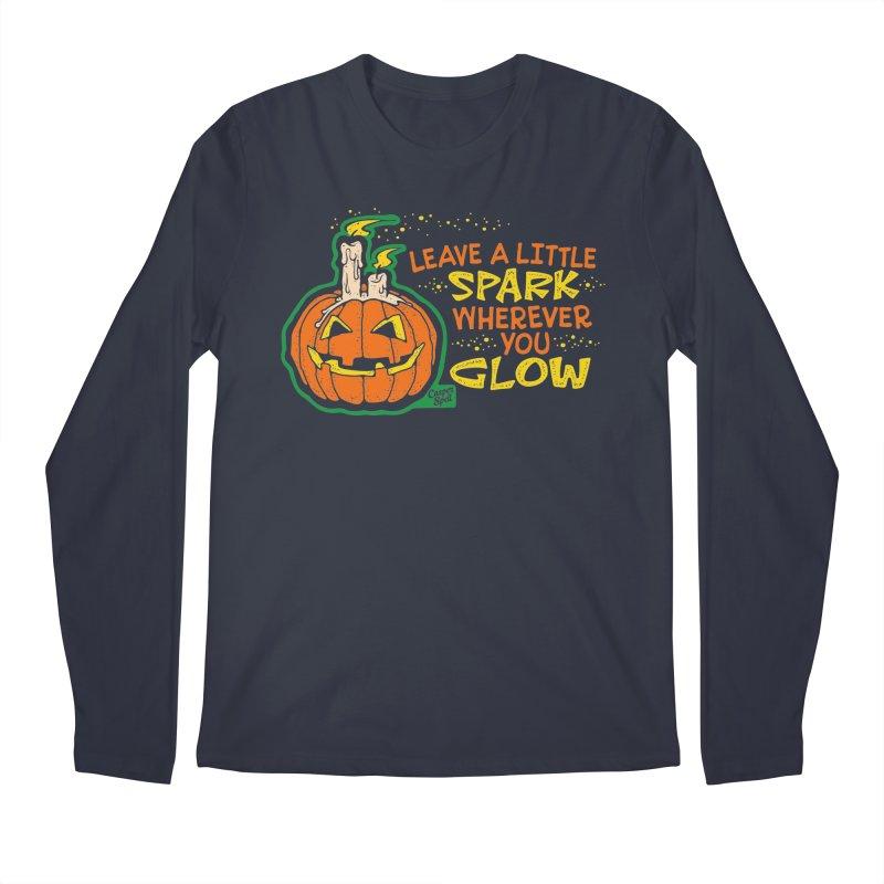 Leave A Little Spark Wherever You Glow Men's Longsleeve T-Shirt by Casper Spell's Shop