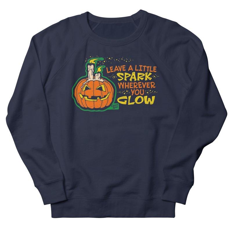 Leave A Little Spark Wherever You Glow Men's Sweatshirt by Casper Spell's Shop