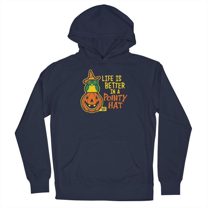 Life Is Better In A Pointy Hat Men's Pullover Hoody by Casper Spell's Shop