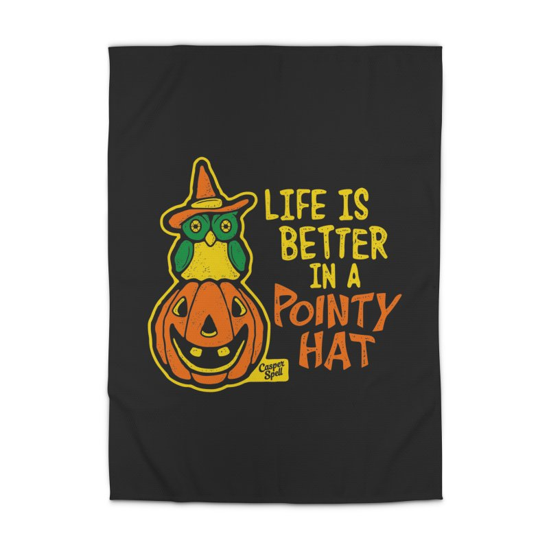 Life Is Better In A Pointy Hat Home Rug by Casper Spell's Shop