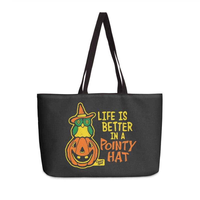 Life Is Better In A Pointy Hat Accessories Bag by Casper Spell's Shop