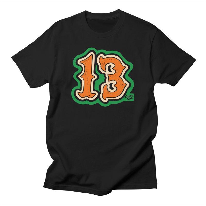 13 by Casper Spell Men's T-Shirt by Casper Spell's Shop