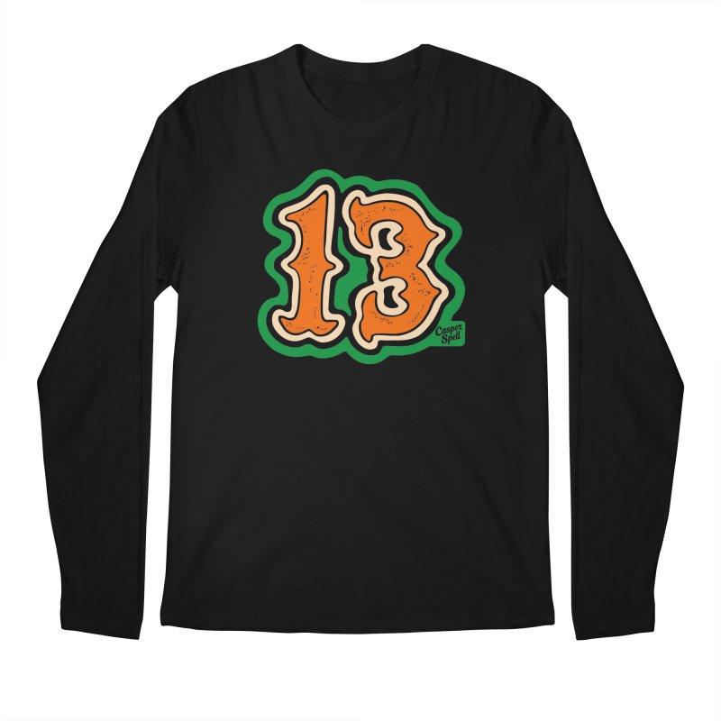 13 by Casper Spell Men's Longsleeve T-Shirt by Casper Spell's Shop