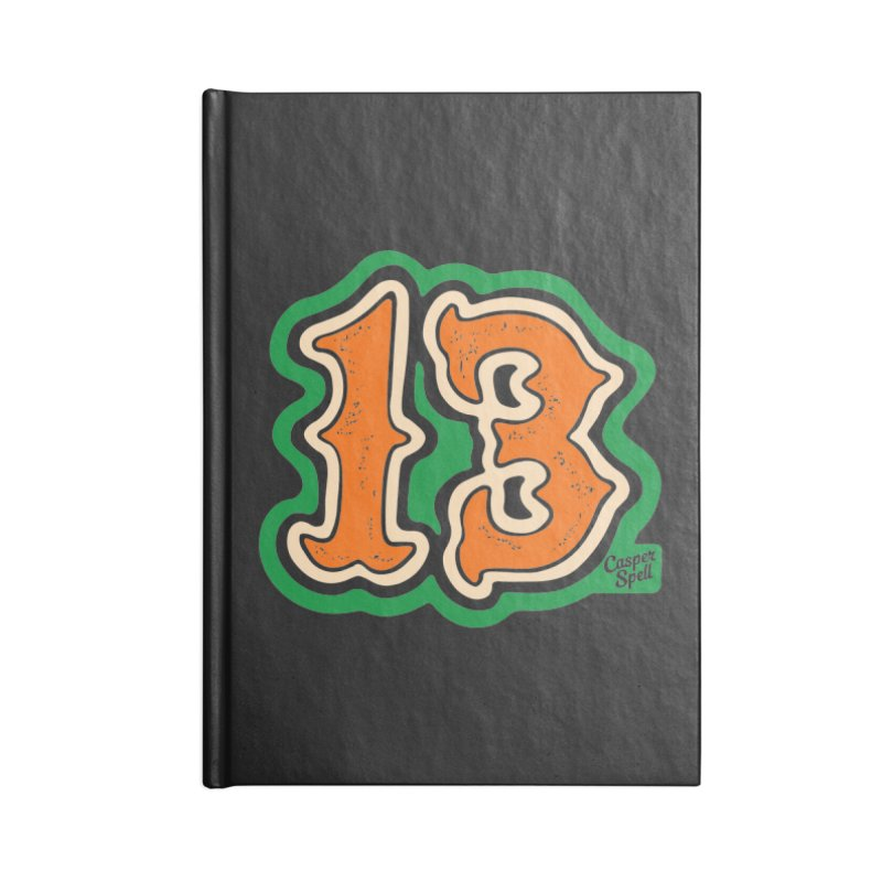 13 by Casper Spell Accessories Notebook by Casper Spell's Shop