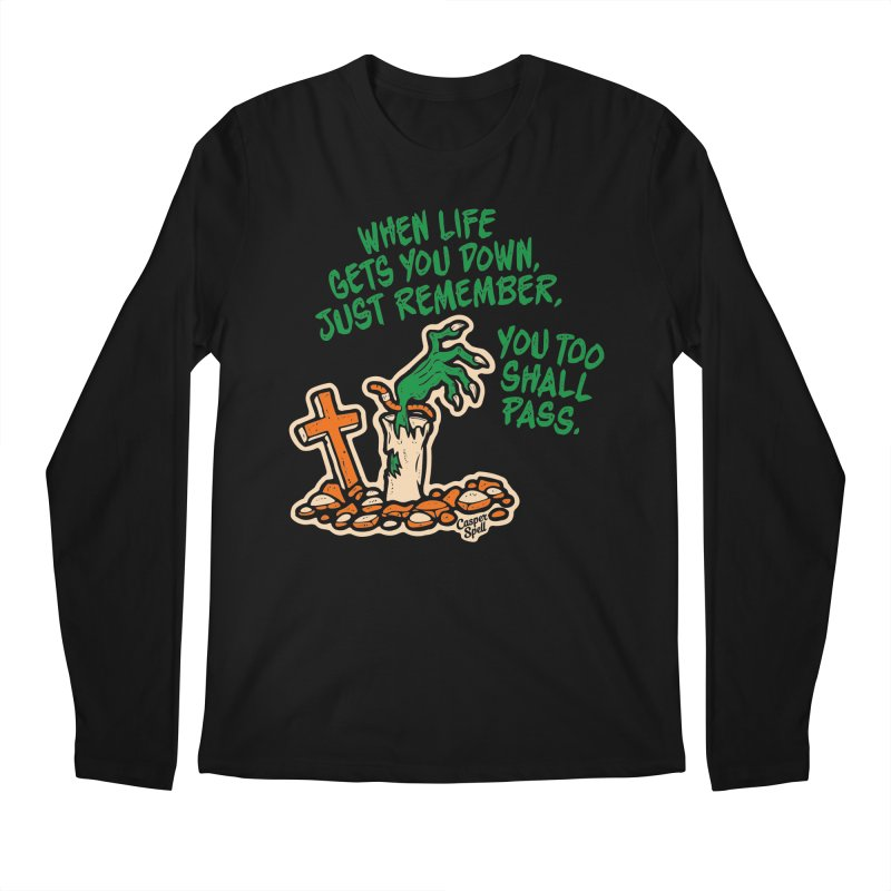 Wave from the Grave by Casper Spell Men's Longsleeve T-Shirt by Casper Spell's Shop