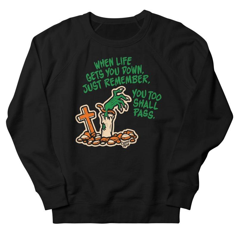 Wave from the Grave by Casper Spell Men's Sweatshirt by Casper Spell's Shop