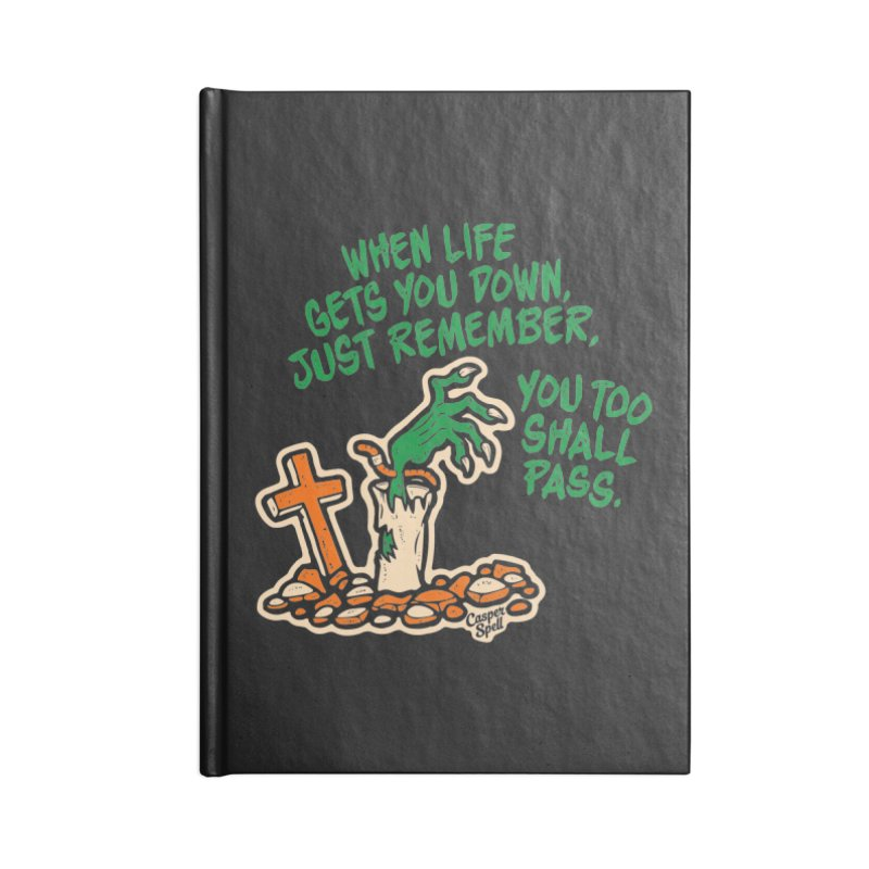 Wave from the Grave by Casper Spell Accessories Notebook by Casper Spell's Shop