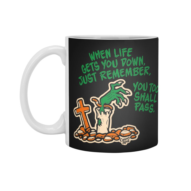 Wave from the Grave by Casper Spell Accessories Mug by Casper Spell's Shop