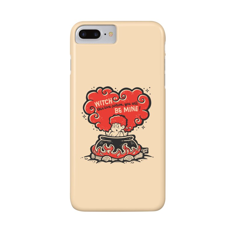 Cupid in Cauldron by Casper Spell Accessories Phone Case by Casper Spell's Shop