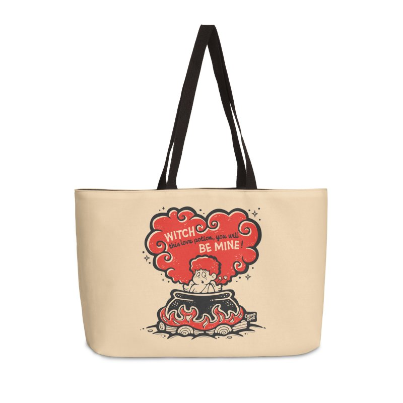 Cupid in Cauldron by Casper Spell Accessories Bag by Casper Spell's Shop